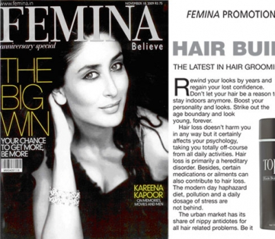 Femina - Hair Building Fibres